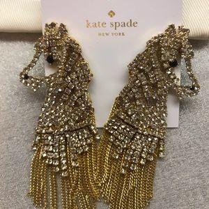 🆕Kate Spade ♠️ Wild Ones Statement Earrings 🐴